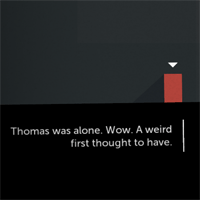 How Thomas Was Alone Uses Narration to Build Its Characters